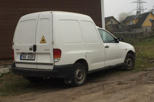 Seat Inca 1.4 44 kW 2004