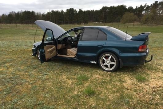 Mitsubishi Galant 2.5 120 kW 1998