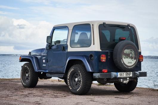 Jeep Wrangler 2.5 87 kW 2002