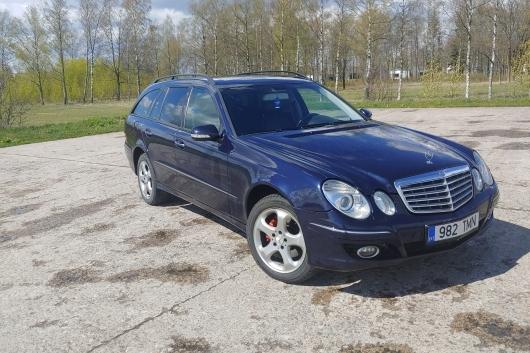 Mercedes E320 W211 3.0 165 kW 2006