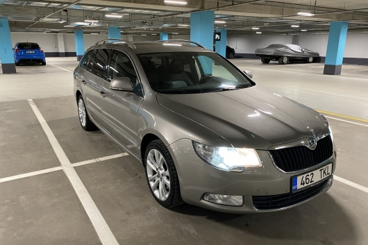 Skoda Superb 2.0 125 kW 2010