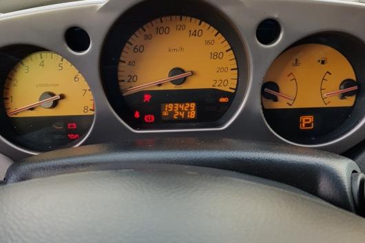 Nissan Murano Z50 3.5 172 kW 2005