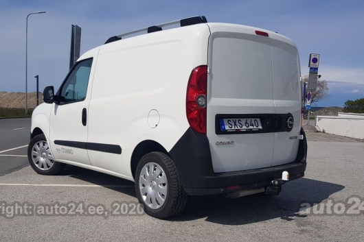 Opel Combo CNG 1.4 88 kW 2014