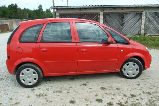 Opel Meriva 1.7 74 kW 2009