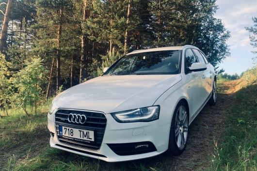 Audi A4 S-Line Quattro 3.0 180 kW 2013