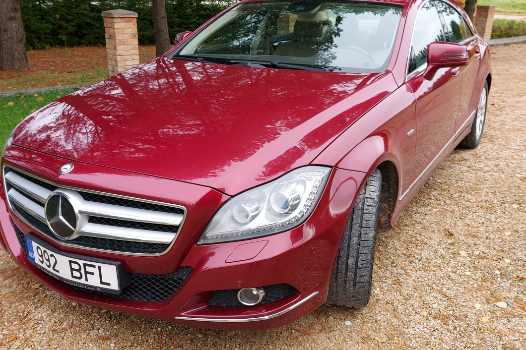 Mercedes CLS250 CDI Blue EFFICIENCY 2.1 150 kW 2011